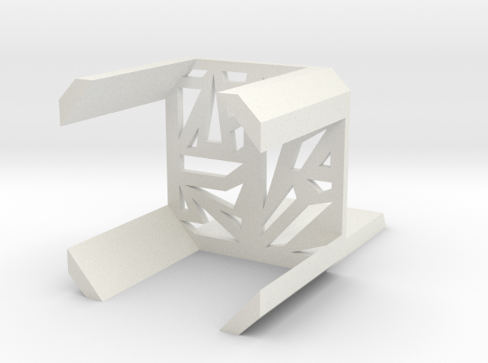 Line shape chair 3d printed