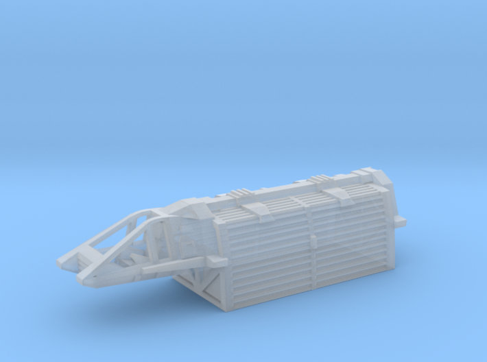 1/350 TMP Work Bee with Container 3d printed