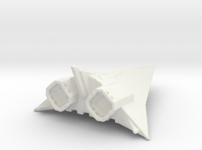 Corvette spaceship 3d printed