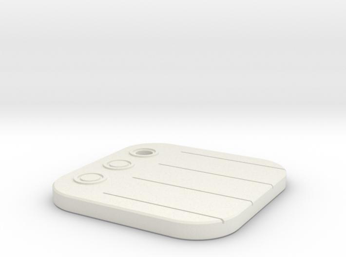 iOS Reminders Keychain 3d printed