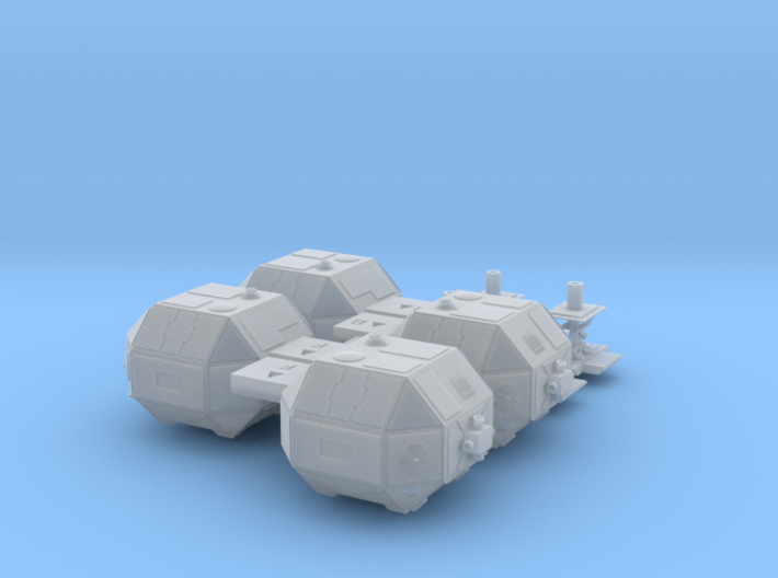 SPACE 2999 EAGLE MPC 1/72 LANDING GEAR 3d printed