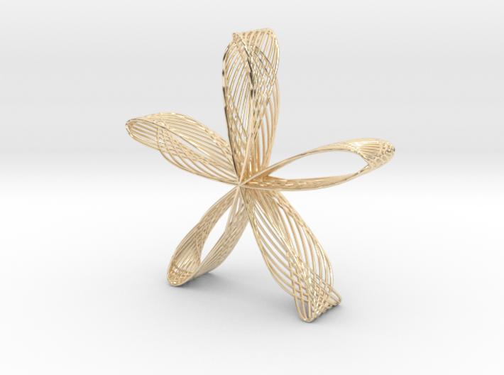 Rose Jewel Pendant(1) 3d printed