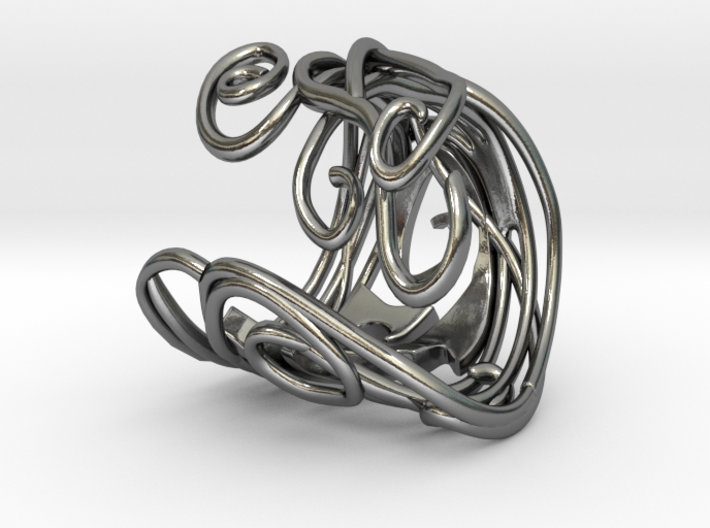 Ring Art déco Style 3d printed