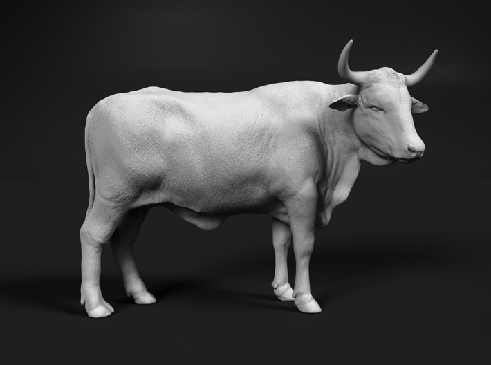 ABBI 1:72 Standing Cow 2 3d printed