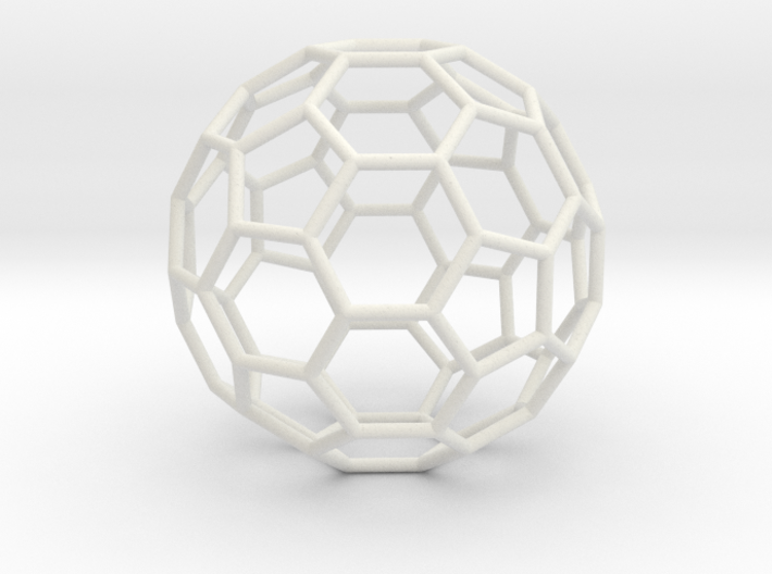 Goldberg polyhedron GP(2, 0) 3d printed