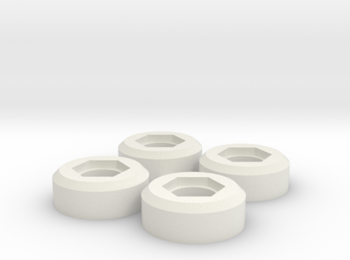 Wheel nut adapter for 12mm hex adapter Bruiser / H 3d printed