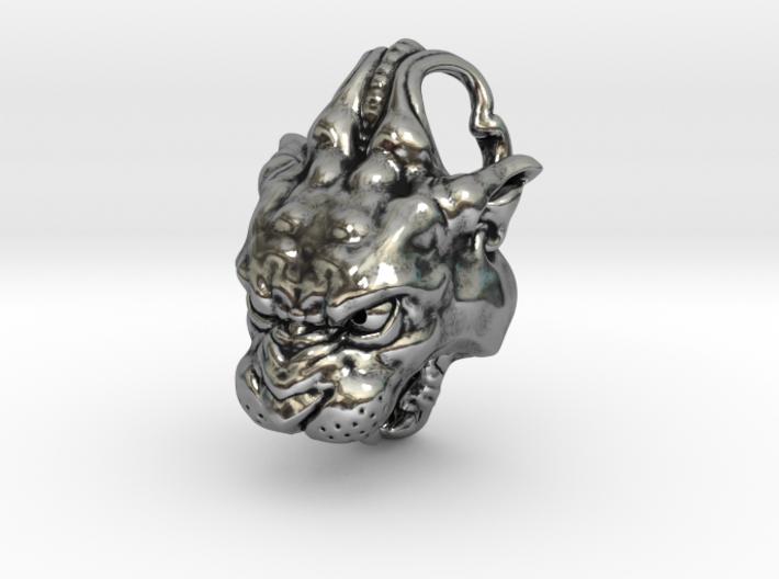 Panther Pendant 3d printed
