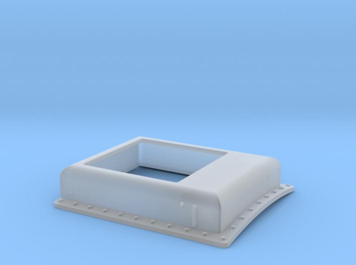 Atlas O Scale F7 Winterization Hatch v2 3d printed
