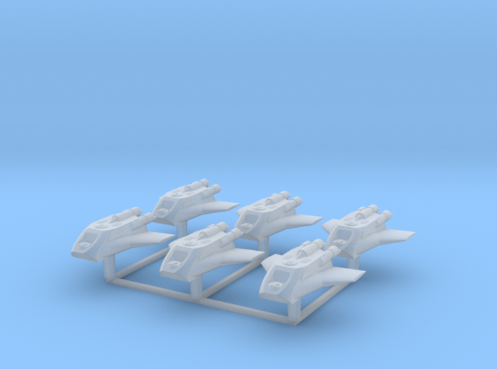 Redthorn Scout Ship 6 Pack 3d printed