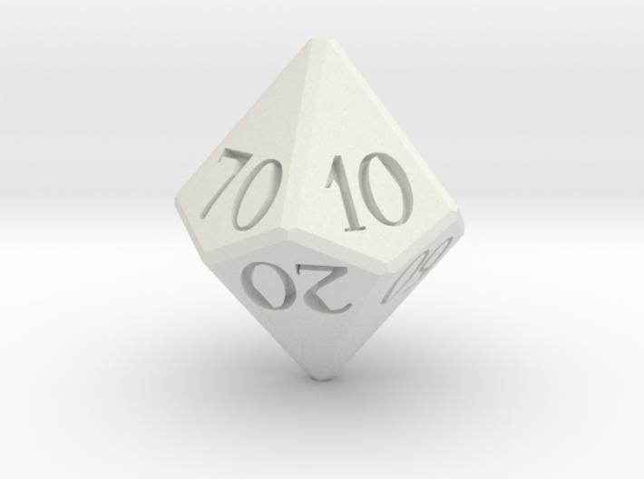 D00 Dice 3d printed