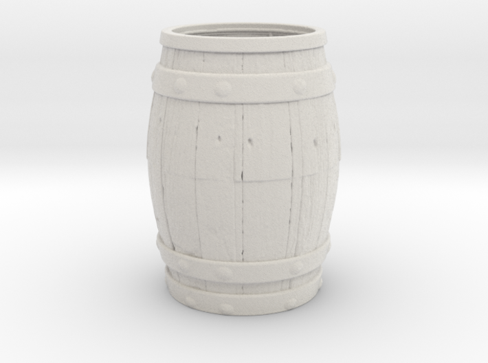 Barrel Toothpick Holder 3d printed