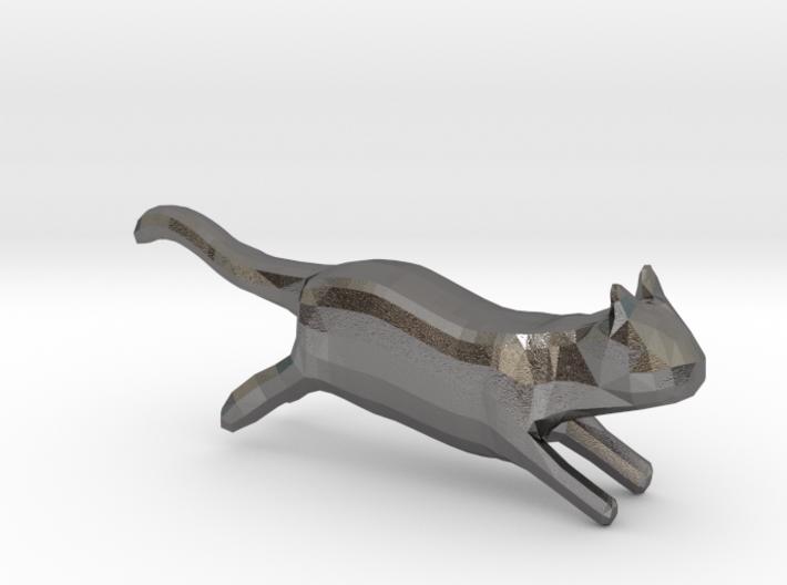 lowpolygon kitten 3d printed
