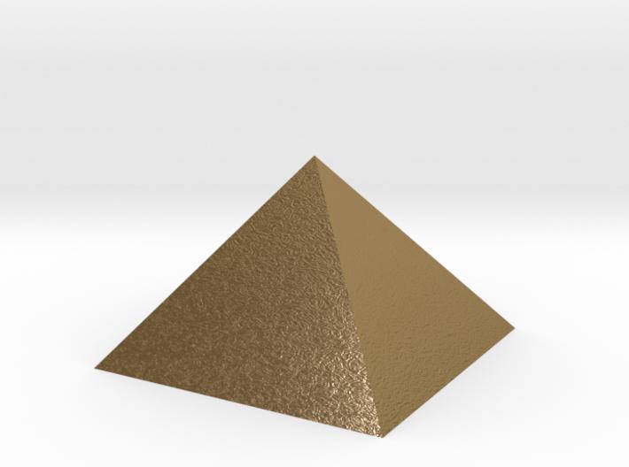 PYRAMID golden Merkaba 3d printed