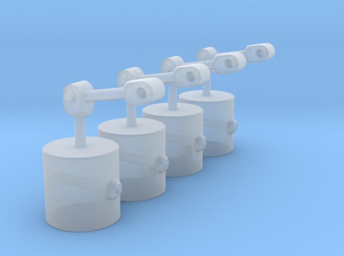 coach vacuum cylinder 3d printed