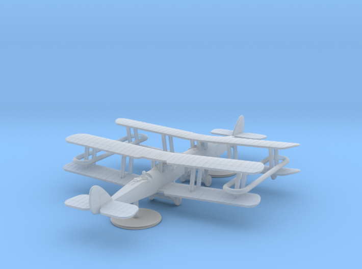 Airco D.H.4 (American) 3d printed 1:285 American DH4 (x2) in FUD