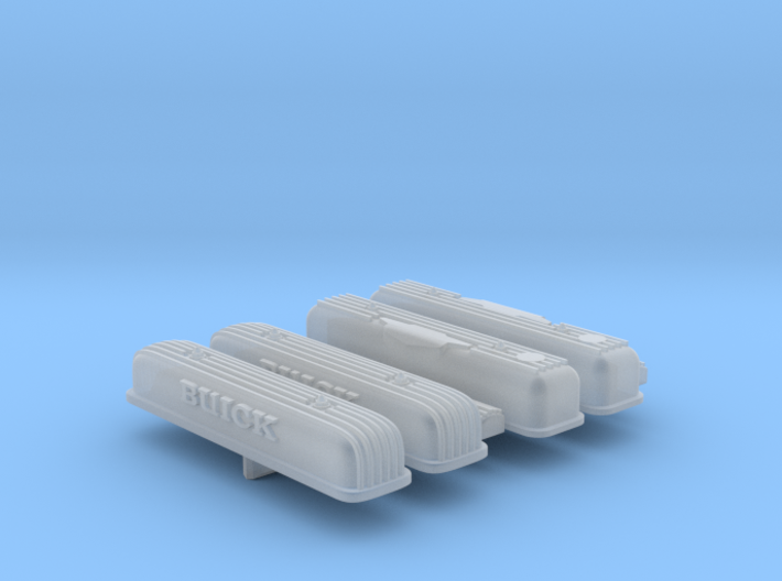 1/25 Buick Nailhead Valve cover set 3d printed
