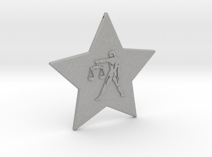 star-libra 3d printed star sign libra