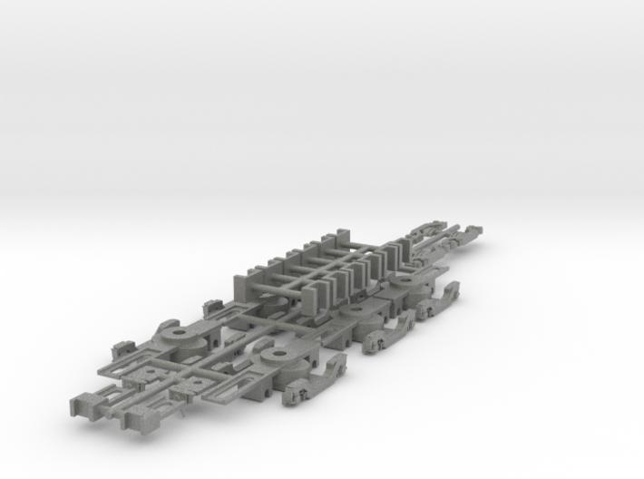 NSBS - Siemens Nexus Bogie Set - N Scale 3d printed