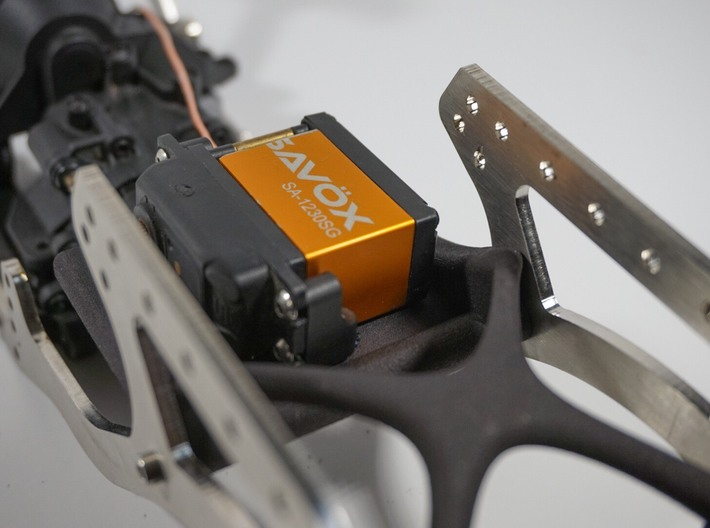All Time Low Rear Mount Servo Winch Kit 3d printed