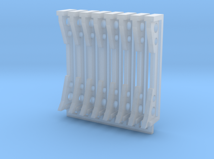 Stanchions 3d printed
