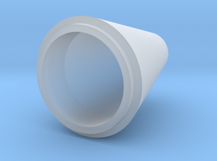 conical spinner for 65mm rotor 3d printed