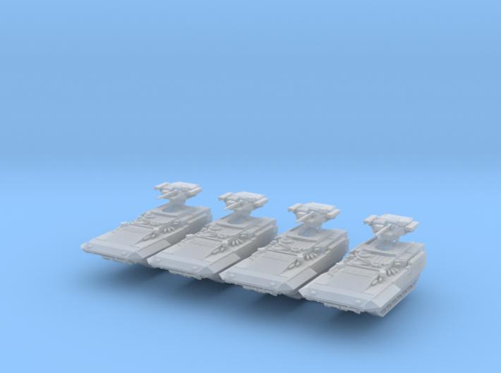 T-15 BMP Armata AIFV Scale: 1:285 x4 3d printed