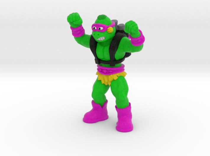 "Turly Gang - 1.75"" Figurine, multi-color 3d printed"