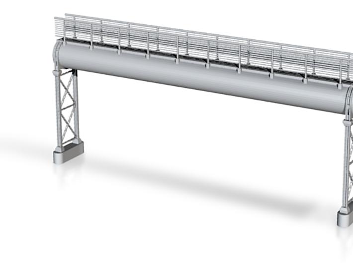 Pipeline Hochanlage mit Gangway 3d printed
