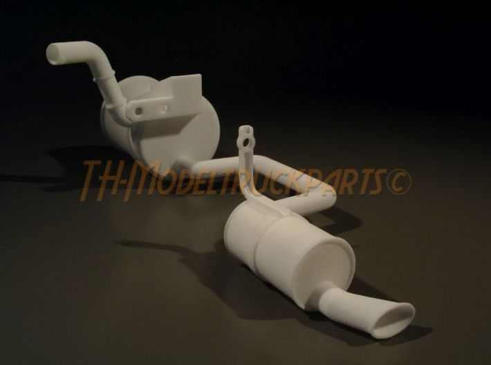 THM 00.5201 Exhaust pipe left Tamiya Volvo FH12 3d printed