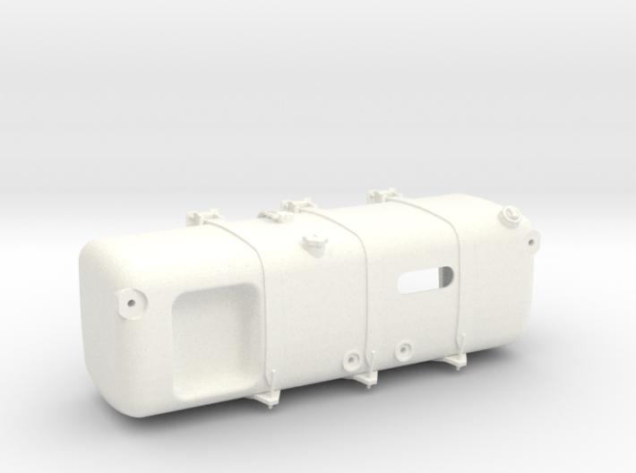 THM 00.3109-TL Fuel tank left Tamiya Actros 3d printed