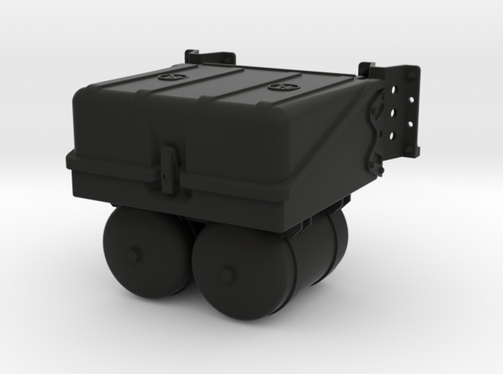 THM 00.3802 Battery box Tamiya Actros 3d printed