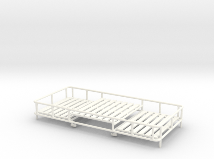 THM 07.0012 Roof rack large Tamiya trucks 3d printed
