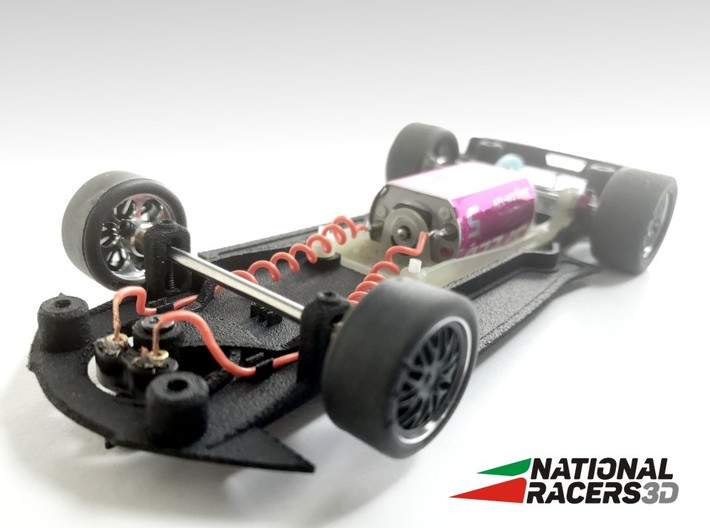 3D Chassis - Carrera Chevrolet C7.R (Combo) 3d printed