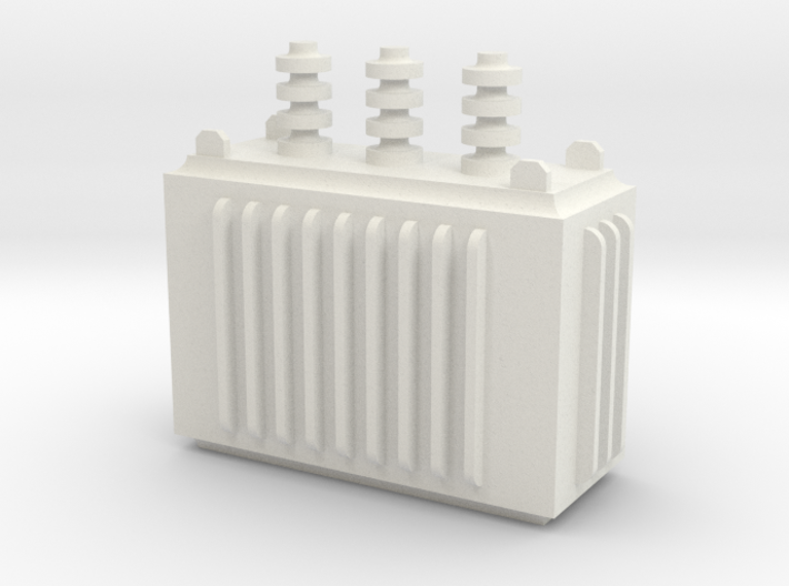 Electricity Transformer 3d printed