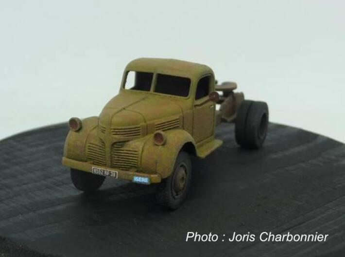 1:87 Dodge semi tractor 1940 3d printed