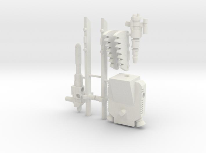TF WFC Siege - Sideswipe Kit 3d printed