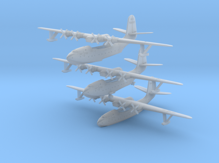Martin JRM1 Mars  U.S.NAVY set of Three 3d printed