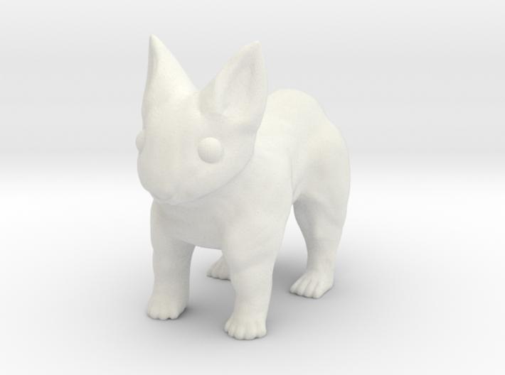 Leopabbit Hollow Medium 3d printed