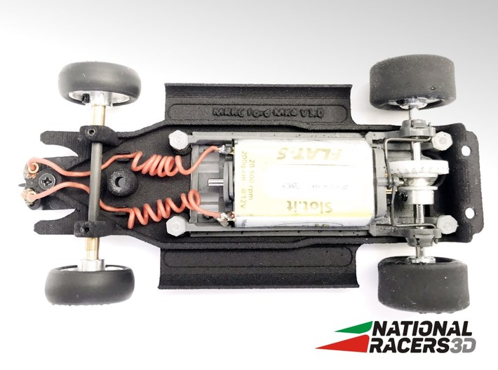 3D Chassis - MRRC Ford GT40 MK4 (Inline) 3d printed