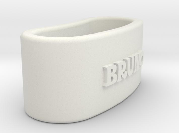 BRUNO napkin ring with lauburu 3d printed
