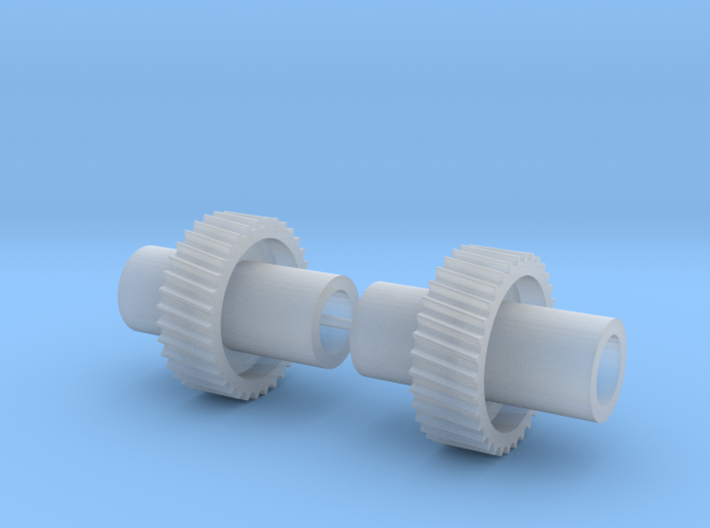 USA Trains G Scale 0-4-0 Switcher Drive Gear x2 3d printed