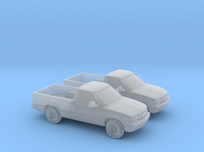 1/160 2X 1997-04 Chevrolet S 10 3d printed