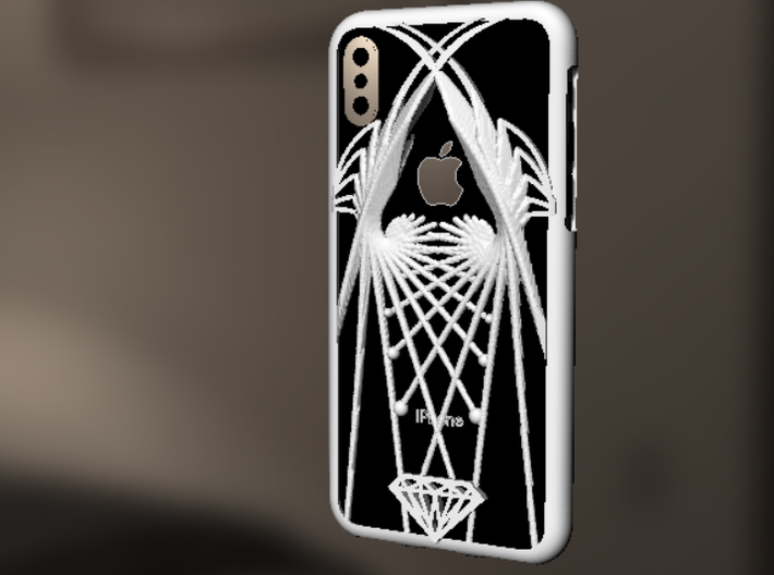 iPhone X case - Wings design 3d printed