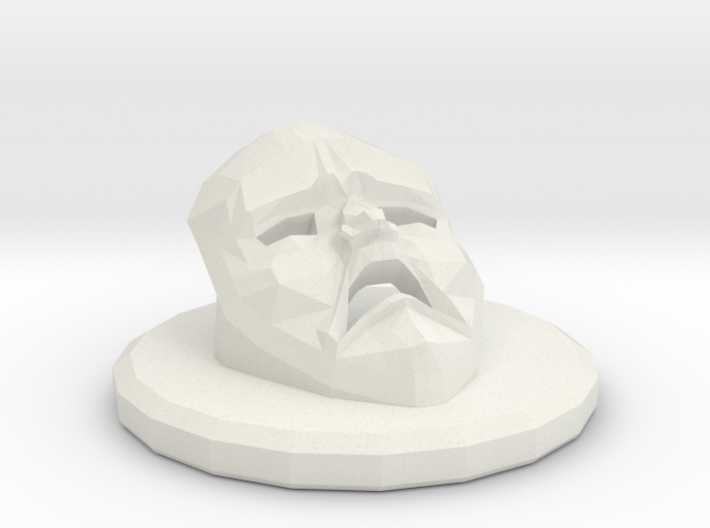 Betrayal At House On The Hill Omen - Mask 3d printed