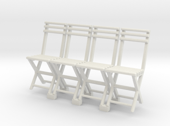 c-1-35 folding-chair (Slatted tops) 3d printed