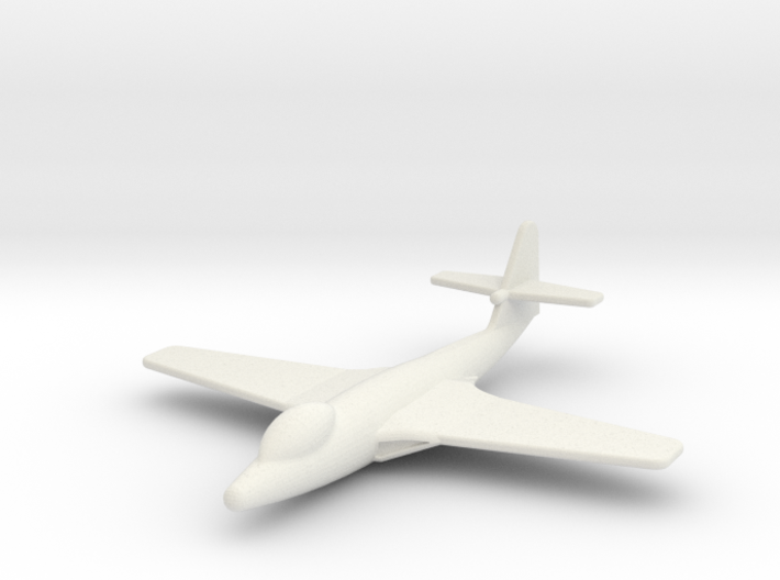 JA01 Hawker Sea Hawk (1/285) 3d printed
