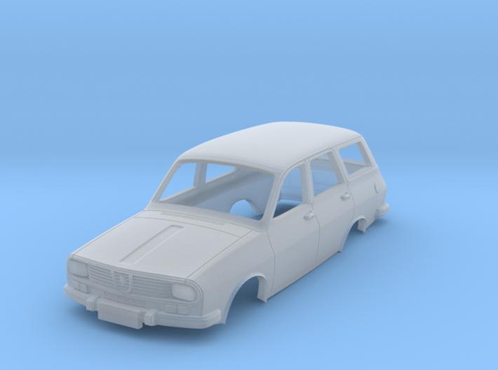 Dacia 1300 Break (Renault 12) Body Scale 1:120 3d printed
