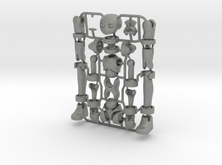 Erstaz MKII action figure Angel Body 3d printed