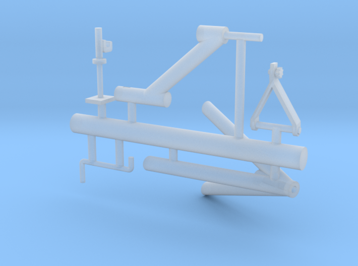 M2 mount for guntruck HMMWV 3d printed