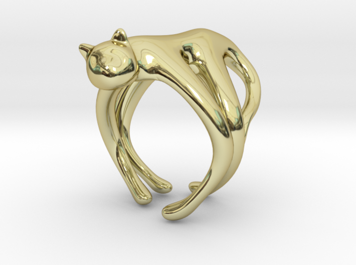 catRing_A 3d printed